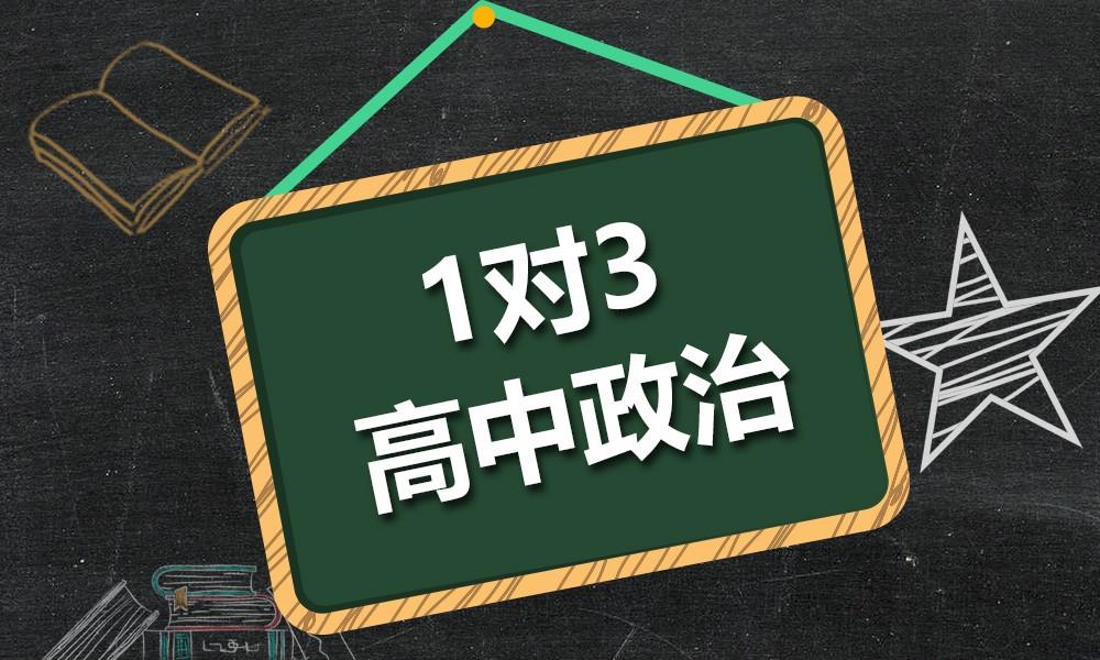上海精锐高中政治一对三课程