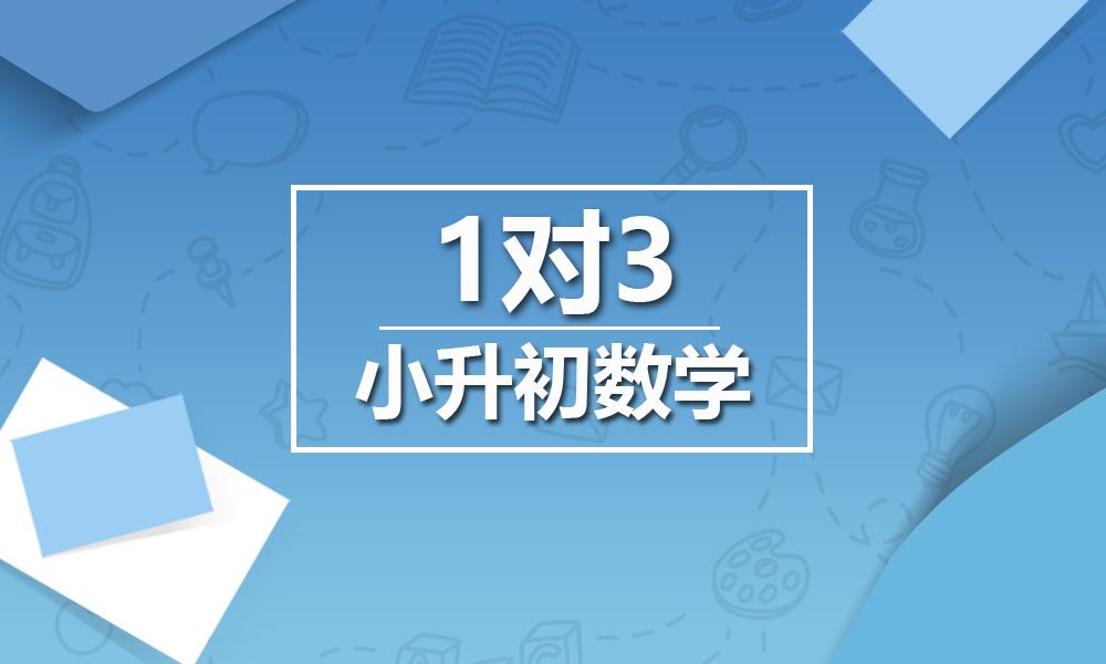 上海精锐小升初数学一对三课程