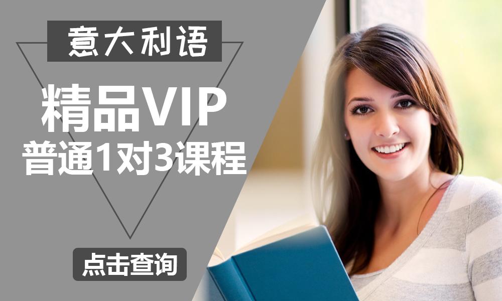 上海森淼精品VIP普通一对三课程