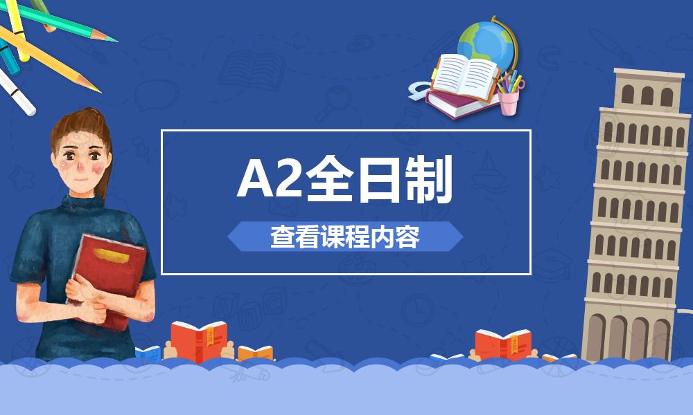 上海森淼A2全日制课程