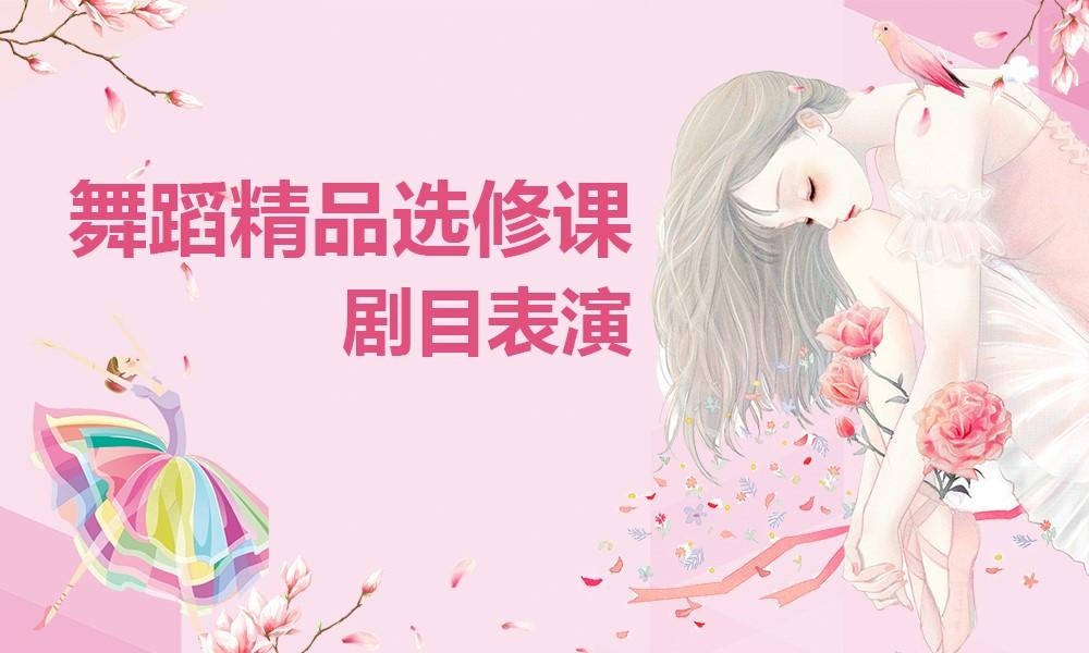 上海金芭蕾舞蹈精品选修课-剧目表演