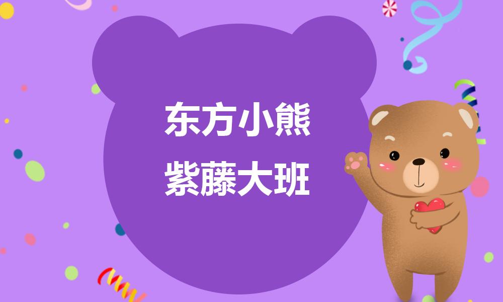 东方小熊紫藤大班