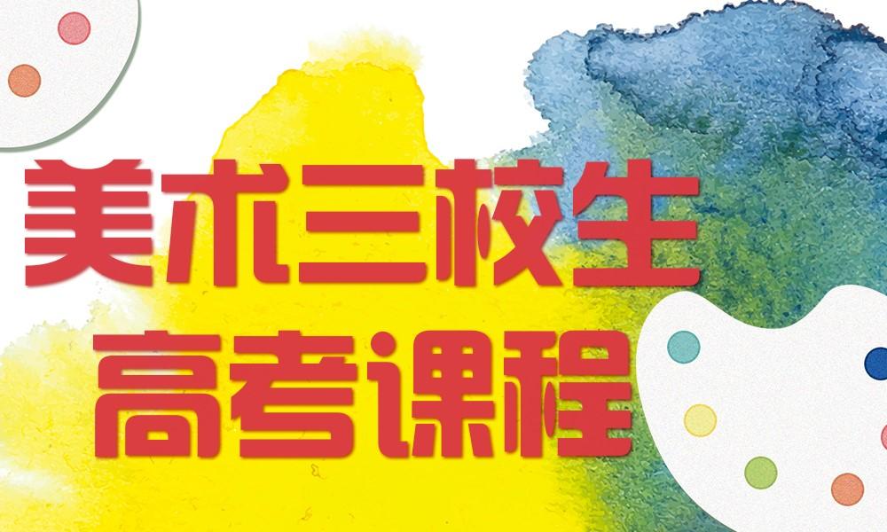 上海断点艺术美术三校生高考课程