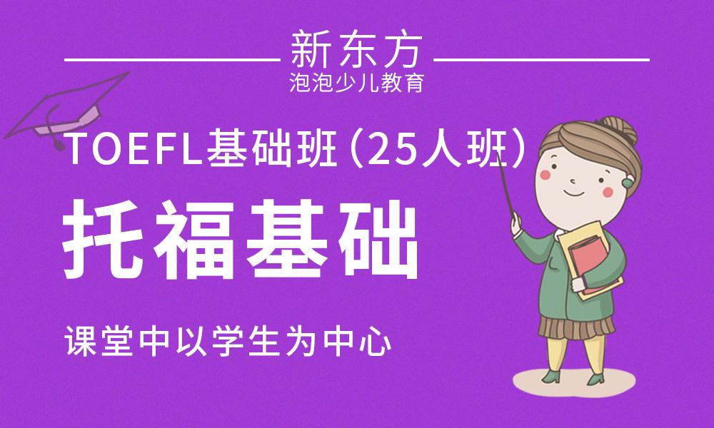 TOEFL基础班(25人班)