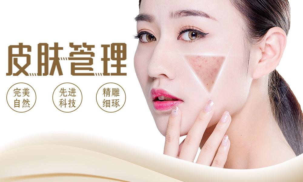 上海艾尼斯美妆连锁美容韩式皮肤管理学