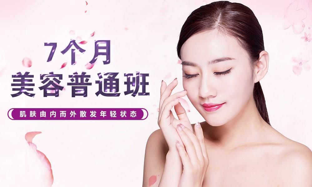 上海艾尼斯美妆连锁7个月美容普通班