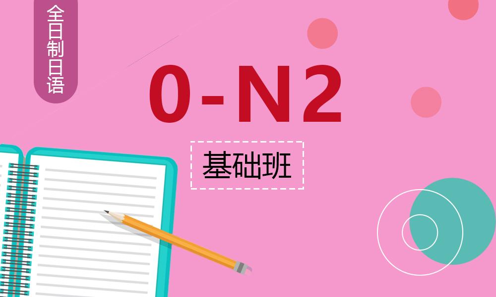 业余制日语0-N2基础班