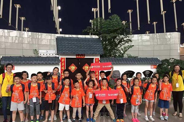 上海昂立少儿学员演出
