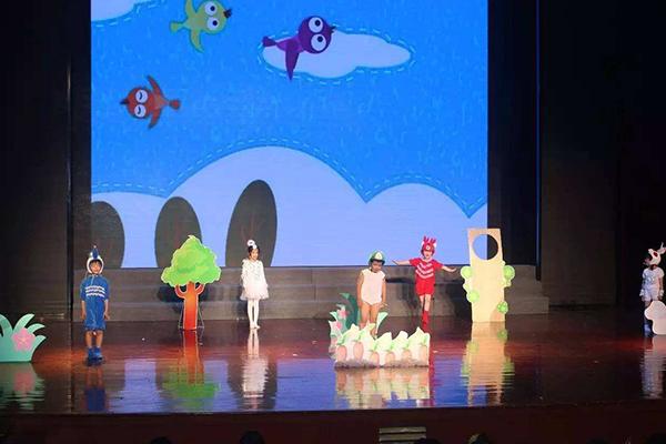 上海昂立少儿学员表演