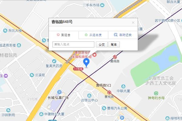 上海优路教育普陀校区地址