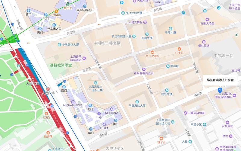 上海昂立智培星儿童美语人民广场校区