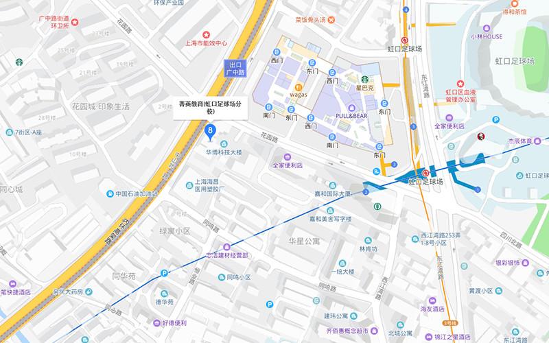 上海菁英教育虹口足球场分校