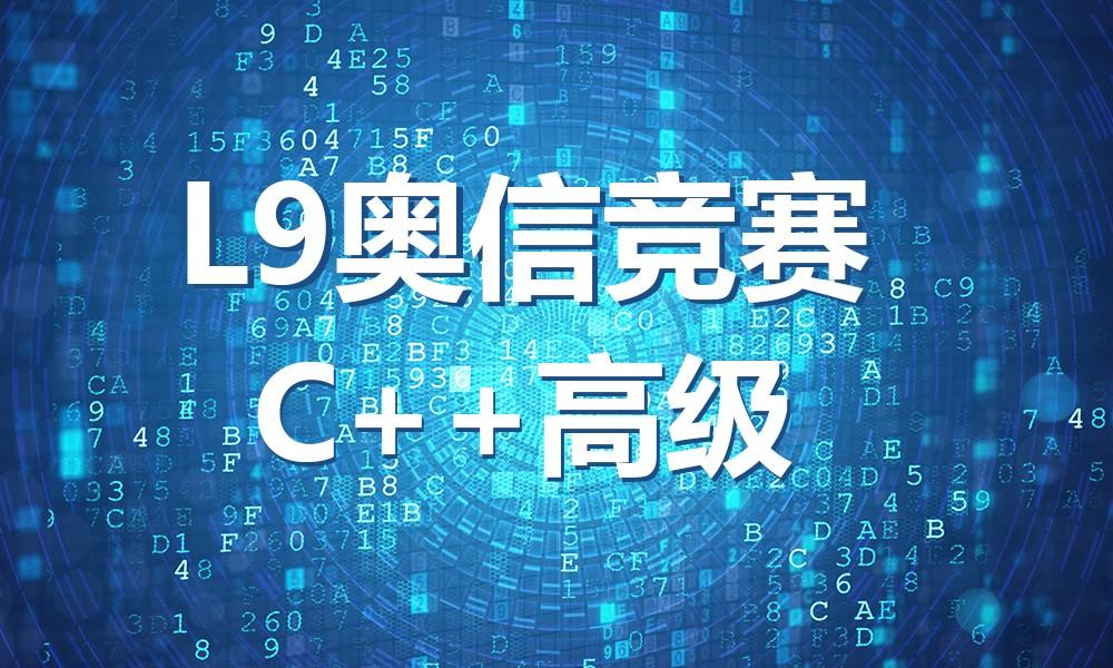 上海极客晨星L9奥信竞赛C++高级