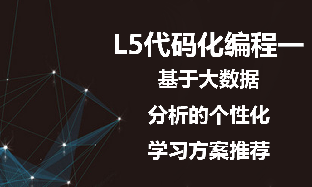 上海极客星辰L5代码化编程一
