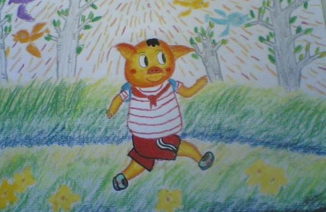 上海小孩学习油画有什么好处