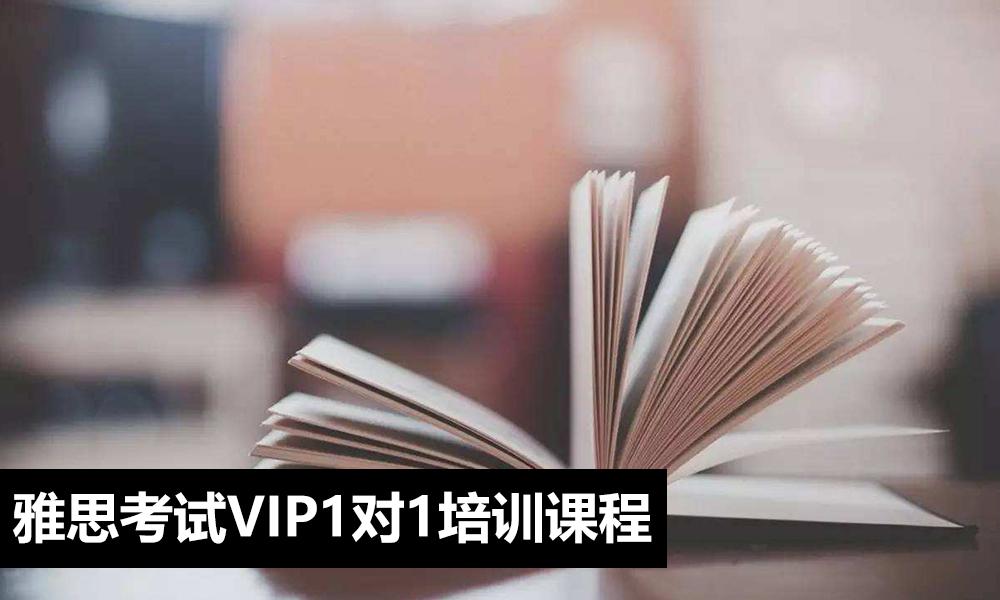 雅思考试VIP1对1培训课程