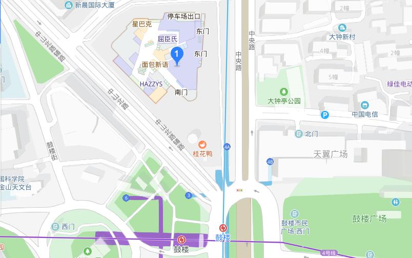 顺顺留学南京紫峰大厦校区