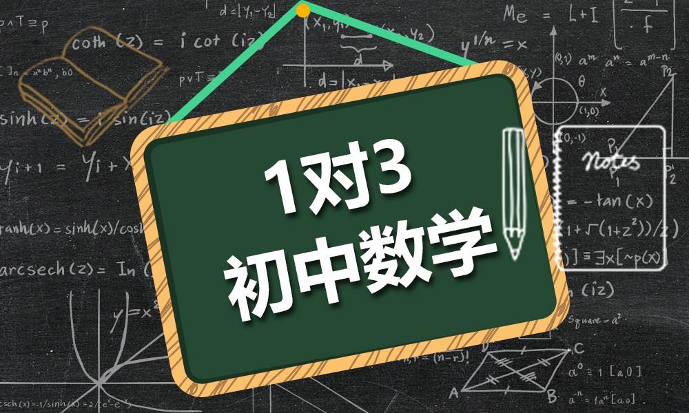 精锐初中数学一对三课程