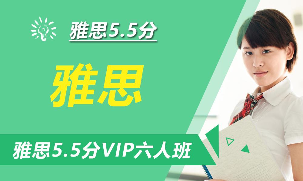 雅思5.5分VIP六人课程