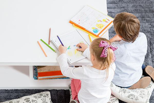 少儿4-5岁符号启智美术课