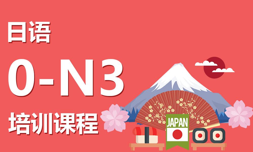 日语0-N3培训课程