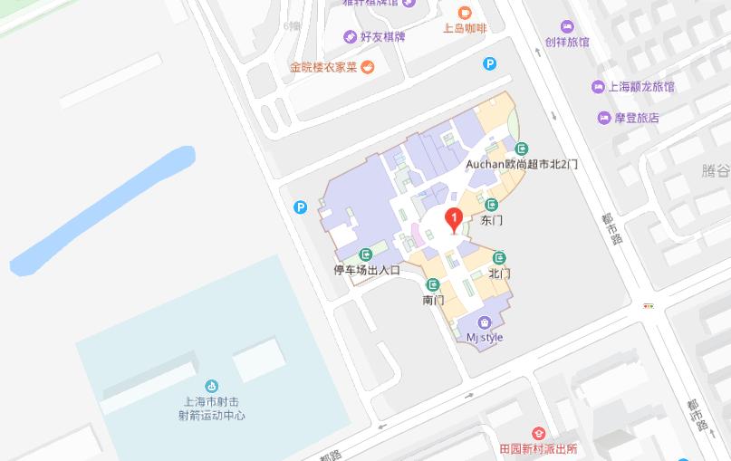 上海昂立外语颛桥校区