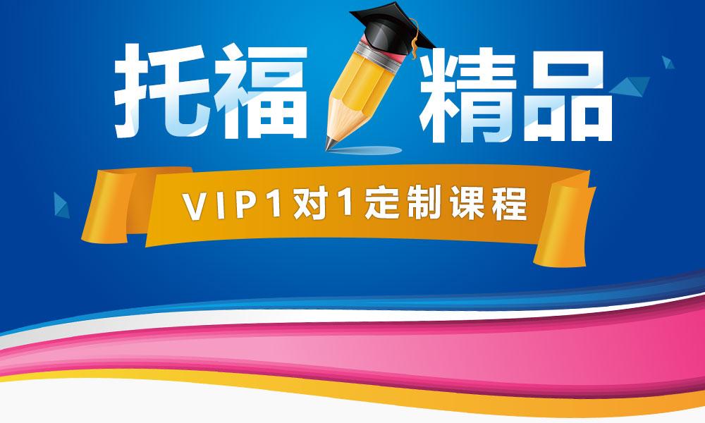 托福精品VIP1对1定制课程
