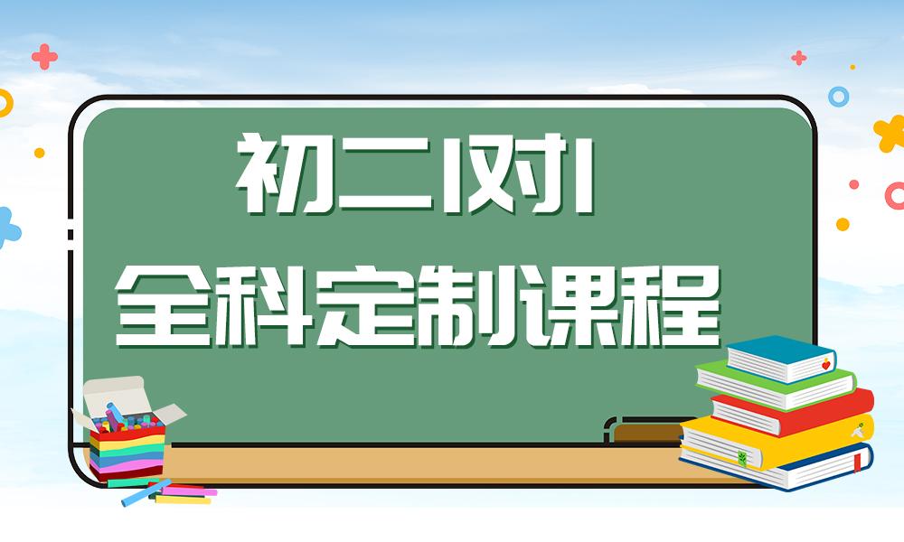 初二1对1全科定制课程
