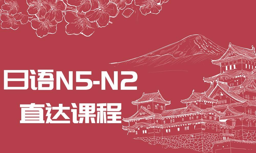 日语N5-N2直达课程
