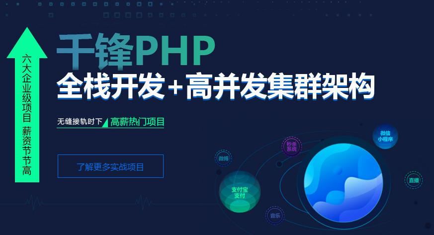 上海千峰教育PHP课程