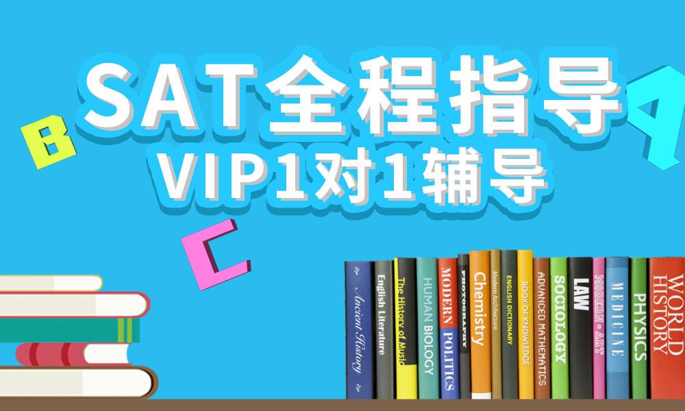 SAT全程指导VIP1对1辅导