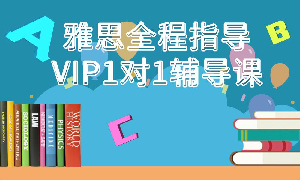 托福全程指导VIP1对1定制课