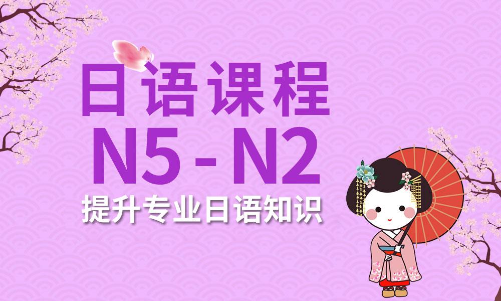 日语N5~N2系列培训课程
