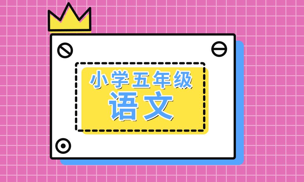 杭州学大小学五年级语文辅导课程