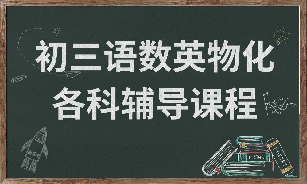 广州龙文初三各科辅导课程
