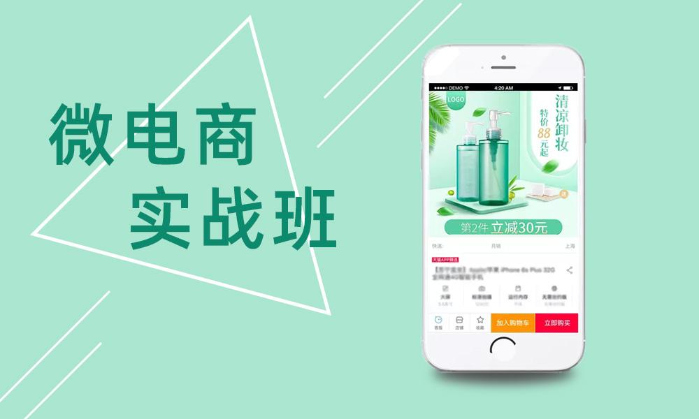 广州汇学微电商实战班