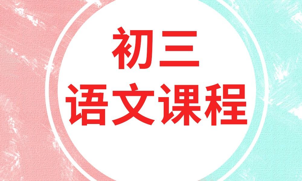 深圳卓越初三语文课程