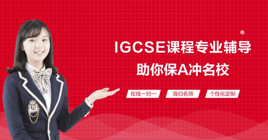 上海菠萝在线IGCSE专业辅导课程