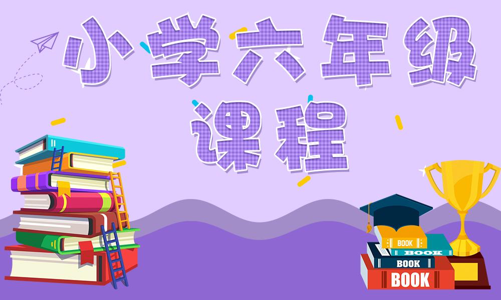 天津优胜小学六年级课程