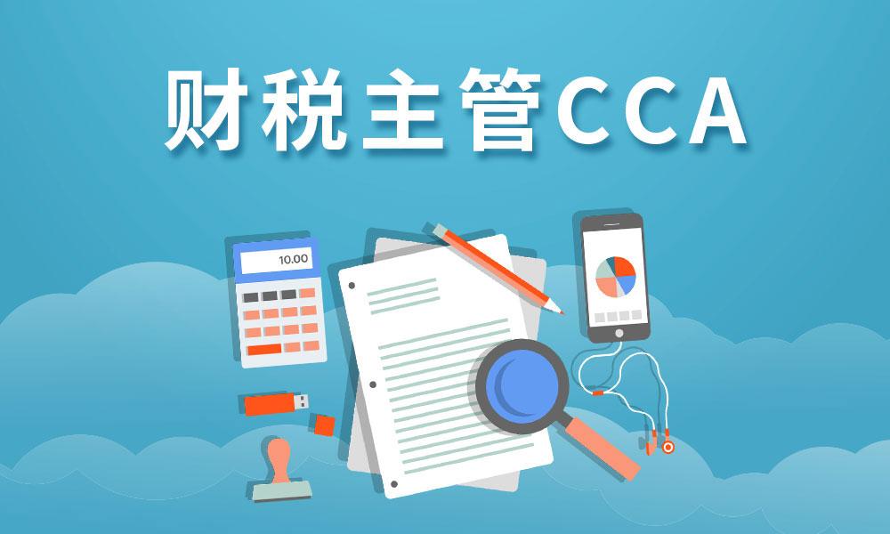 天津仁和CCA主管会计班