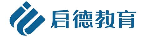 济南启德教育Logo