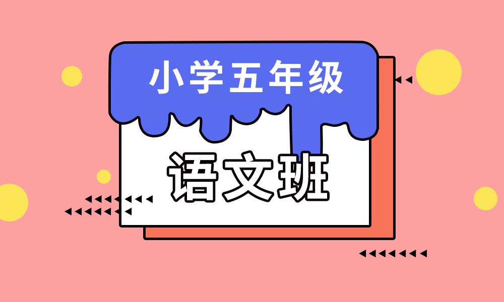 青岛学大五年级语文辅导课程