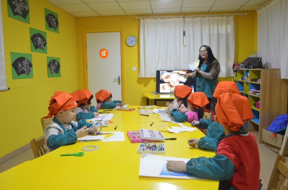 济南橙果艺术美术班