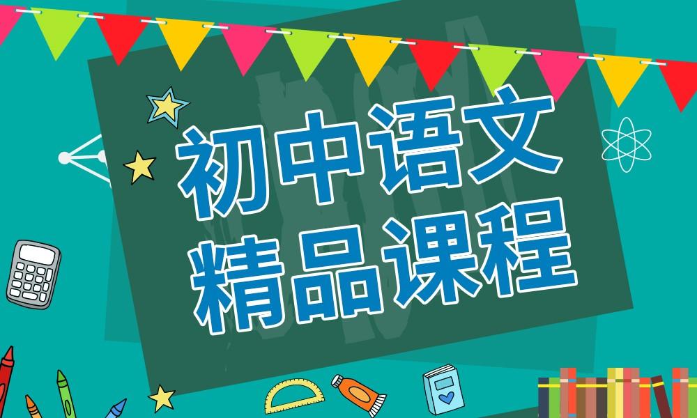 长沙精锐初中语文精品课程
