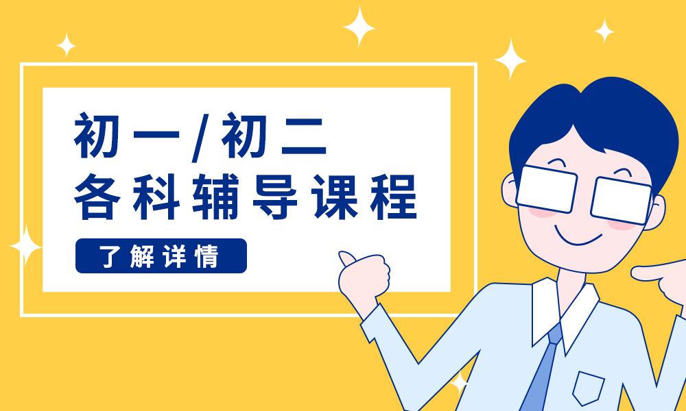 武汉学大初一/初二各科辅导课程